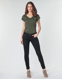 Oblačila Ženske Jeans skinny G-Star Raw MIDGE CODY MID SKINNY WMN Črna