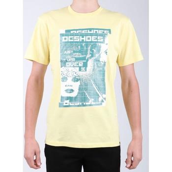 Oblačila Moški Majice s kratkimi rokavi DC Shoes DC SEDYZT03769-YZL0 yellow