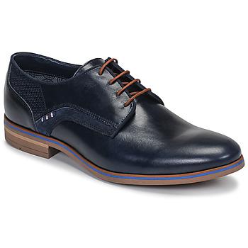 Čevlji  Moški Čevlji Derby André JACOB Modra