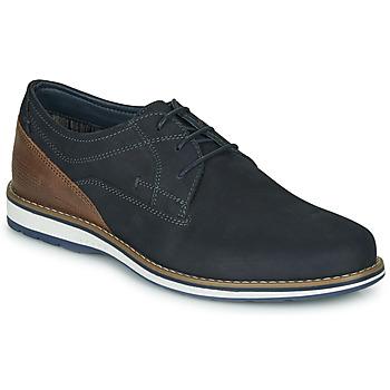 Čevlji  Moški Čevlji Derby André LINOS Modra