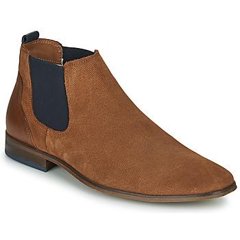 Čevlji  Moški Čevlji Derby André WALOU Cognac