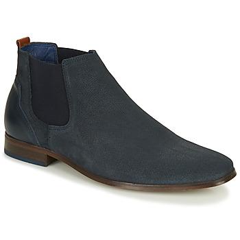 Čevlji  Moški Čevlji Derby André WALOU Modra