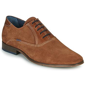 Čevlji  Moški Čevlji Richelieu André WALACE Cognac