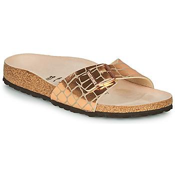 Čevlji  Ženske Natikači Birkenstock MADRID Zlata