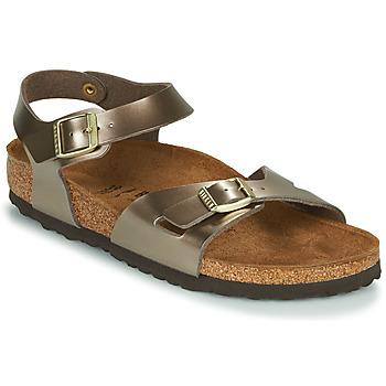 Čevlji  Ženske Sandali & Odprti čevlji Birkenstock RIO Bronze