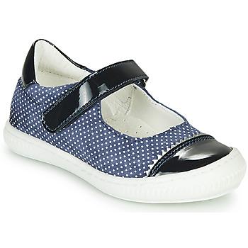 Čevlji  Deklice Balerinke André ISALIE Modra