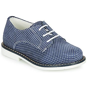 Čevlji  Deklice Čevlji Derby André KYLIE Modra