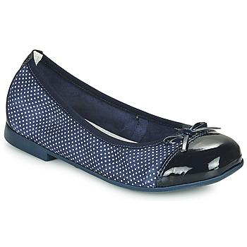 Čevlji  Deklice Balerinke André PIA Modra