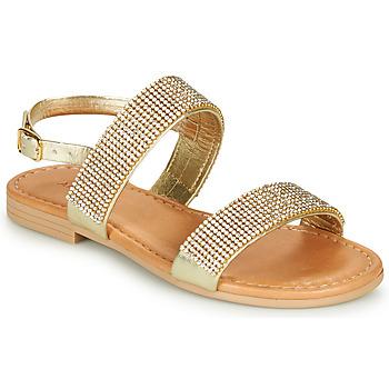 Čevlji  Deklice Sandali & Odprti čevlji André DORIANNE Zlata