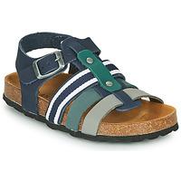 Čevlji  Dečki Sandali & Odprti čevlji André TRISTAN Modra