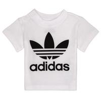 Oblačila Otroci Majice s kratkimi rokavi adidas Originals MAELYS Bela