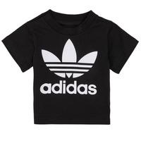 Oblačila Otroci Majice s kratkimi rokavi adidas Originals MARGOT Črna