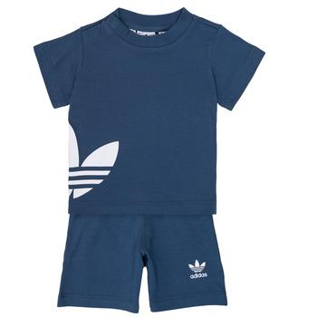 Oblačila Dečki Otroški kompleti adidas Originals CYLIA Modra