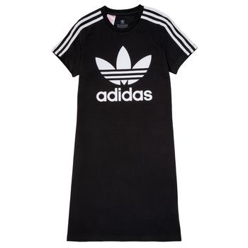 Oblačila Deklice Kratke obleke adidas Originals SALOME Črna