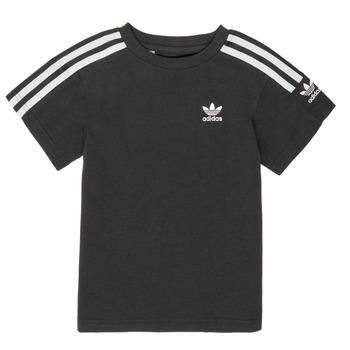 Oblačila Dečki Majice s kratkimi rokavi adidas Originals MINACHE Črna