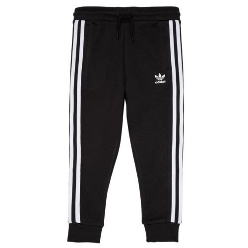 Oblačila Otroci Spodnji deli trenirke  adidas Originals LOOAI Črna