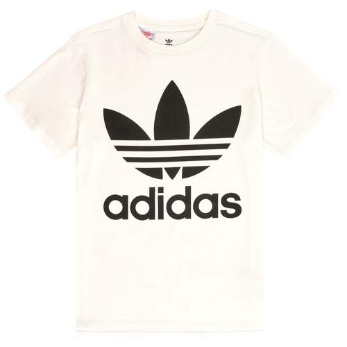 Oblačila Otroci Majice s kratkimi rokavi adidas Originals SARAH Bela