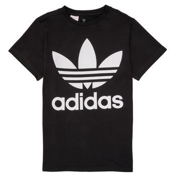 Oblačila Otroci Majice s kratkimi rokavi adidas Originals MAXENCE Črna