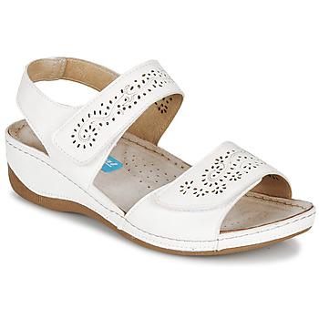 Čevlji  Ženske Sandali & Odprti čevlji Damart MILANA Bela