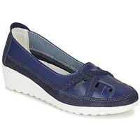 Čevlji  Ženske Balerinke Damart MILANI Modra