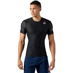 Oblačila Moški Majice s kratkimi rokavi Reebok Sport Crossfit RC Compression Črna