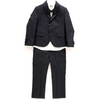 Oblačila Otroci Otroški kompleti Luciano Soprani COML282 Blu