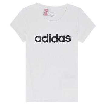 Oblačila Deklice Majice s kratkimi rokavi adidas Performance NELIZO Bela