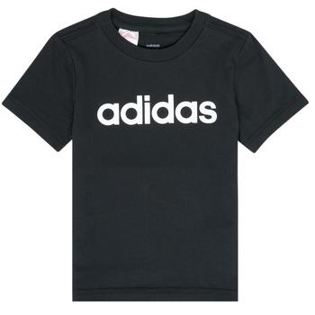Oblačila Dečki Majice s kratkimi rokavi adidas Performance NATAZO Črna