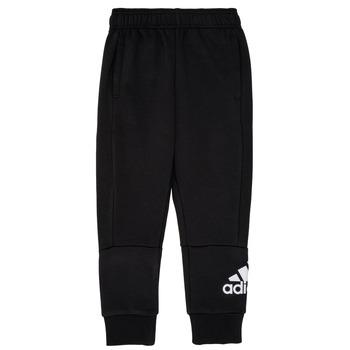 Oblačila Dečki Spodnji deli trenirke  adidas Performance MARTA Črna