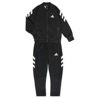 Oblačila Dečki Trenirka komplet adidas Performance MARKEL Črna