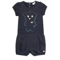 Oblačila Deklice Otroški kompleti Emporio Armani Aiden Modra