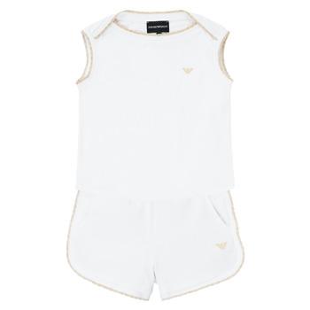 Oblačila Deklice Otroški kompleti Emporio Armani Alain Bela