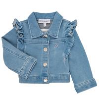 Oblačila Deklice Jakne & Blazerji Emporio Armani Aldric Modra