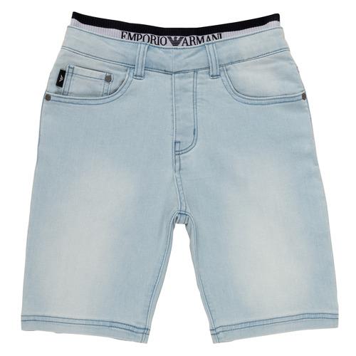 Oblačila Dečki Kratke hlače & Bermuda Emporio Armani Albert Modra