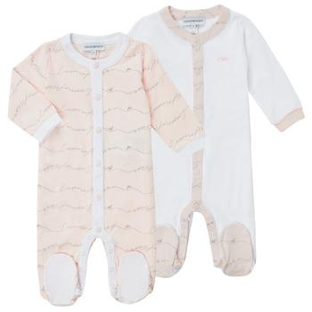 Oblačila Deklice Pižame & Spalne srajce Emporio Armani Alec Rožnata