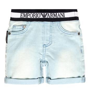 Oblačila Dečki Kratke hlače & Bermuda Emporio Armani Ariel Modra