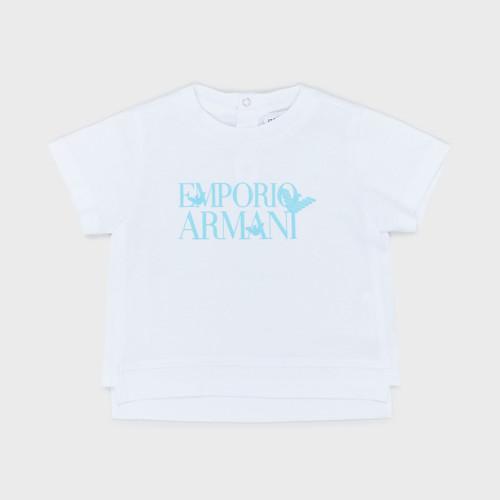 Oblačila Dečki Majice s kratkimi rokavi Emporio Armani Arthus Bela