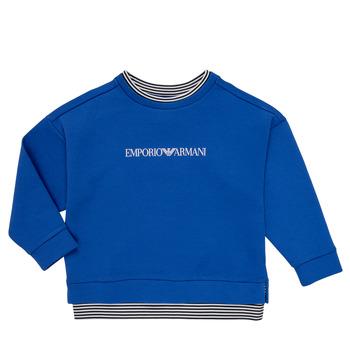 Oblačila Dečki Puloverji Emporio Armani Aurèle Modra
