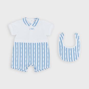 Oblačila Dečki Kombinezoni Emporio Armani Adam Modra