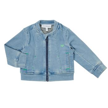 Oblačila Dečki Jakne & Blazerji Emporio Armani Alfred Modra