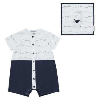 Oblačila Dečki Kombinezoni Emporio Armani Edouard Modra