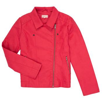 Oblačila Deklice Usnjene jakne & Sintetične jakne Only KONCARLA Rožnata