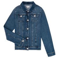 Oblačila Deklice Jeans jakne Only KONSARA Modra