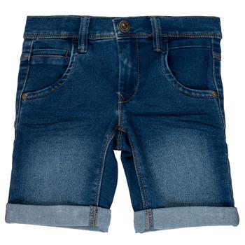 Oblačila Dečki Kratke hlače & Bermuda Name it NKMSOFUS Modra