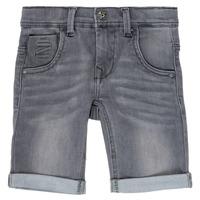 Oblačila Dečki Kratke hlače & Bermuda Name it NKMTHEO Siva