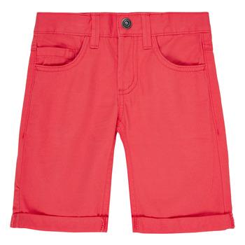 Oblačila Dečki Kratke hlače & Bermuda Name it NKMSOFUS TWIISAK Rdeča