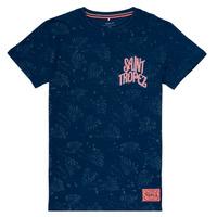 Oblačila Deklice Majice s kratkimi rokavi Name it NKMFARRAN Modra