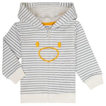Oblačila Dečki Puloverji Noukie's CAM Bela