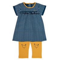 Oblačila Deklice Kratke obleke Noukie's AYOUB Modra / Rumena