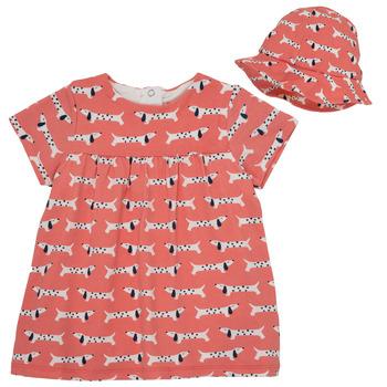 Oblačila Deklice Kratke obleke Noukie's KENZO Rožnata
